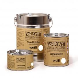 Kreidezeit Standölfarbe Schlussanstrich vollfett 750 ml