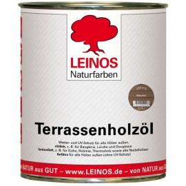 Leinos Terrassenholzöl Bräunlich 236 - 0,75 L