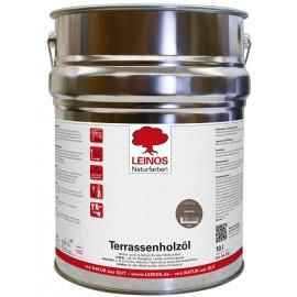 Leinos Terrassenholzöl Bräunlich 236 - 10 L