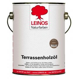 Leinos Terrassenholzöl Bräunlich 236 - 2,5 L