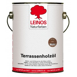 Leinos Terrassenholzöl Rötlich 236 - 2,5 L