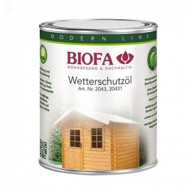 BIOFA Wetterschutzöl 1 l